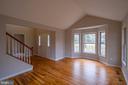 Living Room with Hardwood Floors - 105 MUSKET LN, LOCUST GROVE