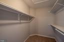 Master Bedroom Walk-In Closet - 105 MUSKET LN, LOCUST GROVE