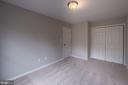 Bedroom 3 with French Door Closet - 105 MUSKET LN, LOCUST GROVE