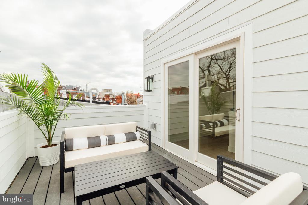 Roof terrace - 46 R ST NW, WASHINGTON