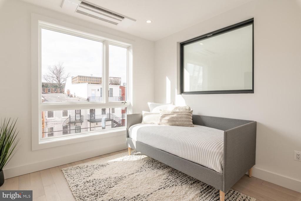 2nd floor bedroom - 46 R ST NW, WASHINGTON