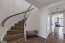 Hand-carved railings - 1401 N OAK ST #302, ARLINGTON