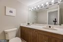 Convenient powder room on the main level - 1401 N OAK ST #302, ARLINGTON