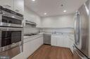 Gourmet kitchen w/ full suite of stainless steel a - 1401 N OAK ST #302, ARLINGTON