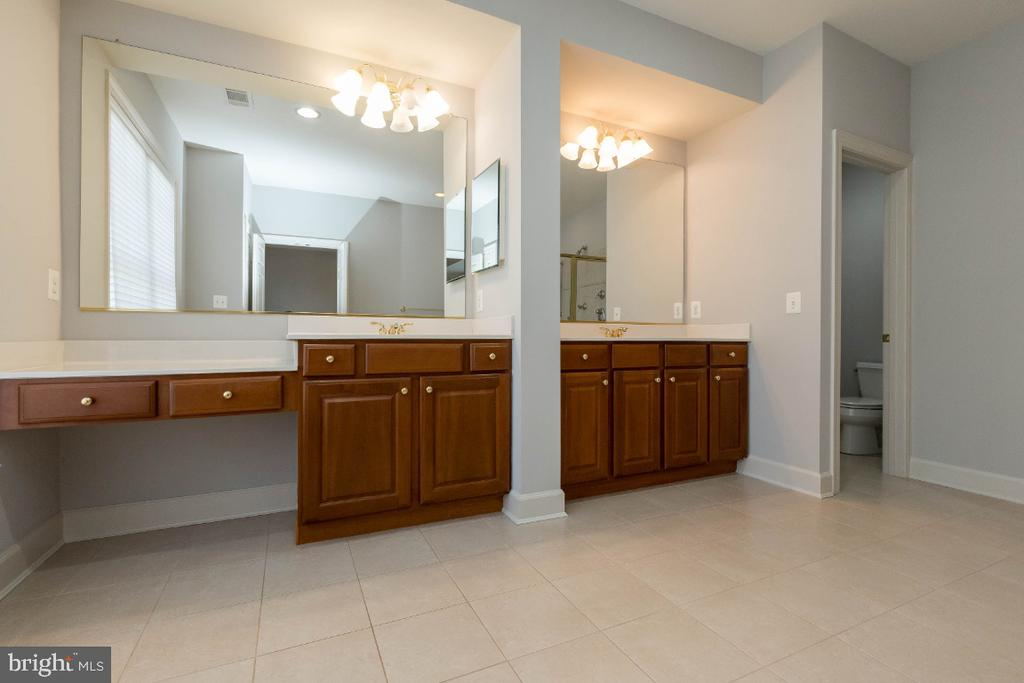 Master bath Double vanities - 43476 CASTLE HARBOUR TER, LEESBURG