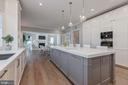 Fabulous kitchen open to breakfast & fam. rooms - 4909 FALSTONE AVE, CHEVY CHASE