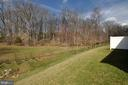 Home backs to this view of trees & fields! - 219 LONG POINT DR, FREDERICKSBURG