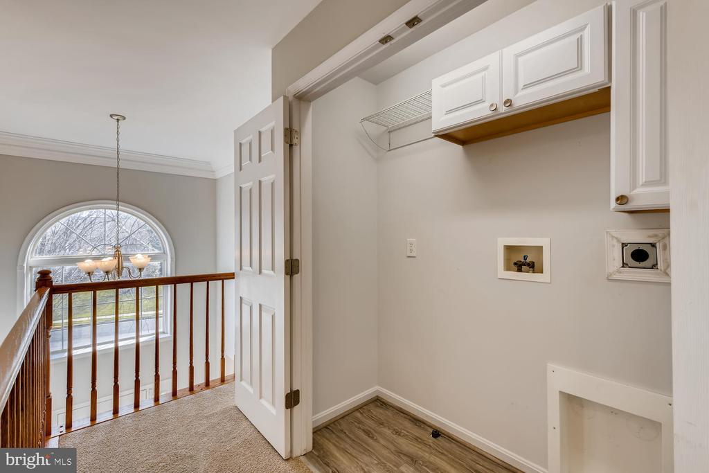 2nd Floor Laundry - 1104 PARK RIDGE DR, MOUNT AIRY
