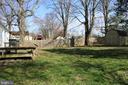Backyard - 7525 MAGARITY RD, FALLS CHURCH