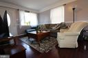 Furnished Living room - 7525 MAGARITY RD, FALLS CHURCH