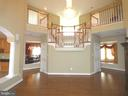 2-Story Family Room - 6431 LAKE MEADOW DR, BURKE