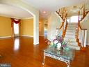 Left of Foyer Living Room - 6431 LAKE MEADOW DR, BURKE