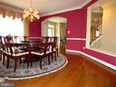 Formal Dining Room - 6431 LAKE MEADOW DR, BURKE