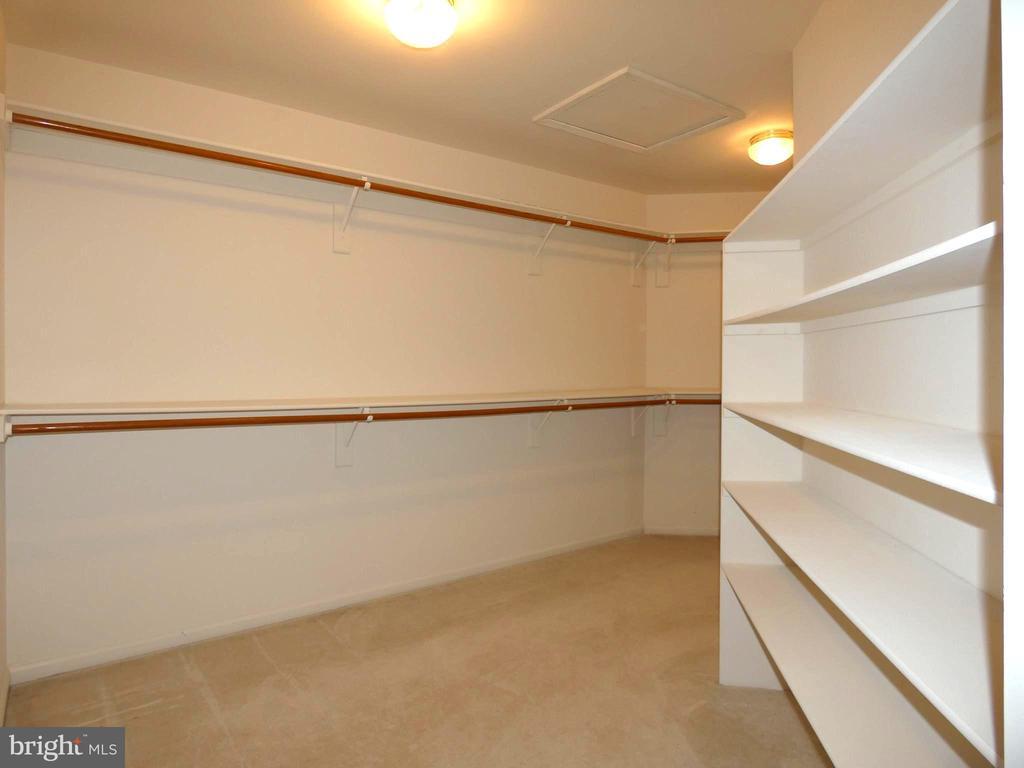 Master Walk-in Closet - 6431 LAKE MEADOW DR, BURKE
