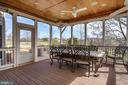 Screened Porch - 19876 BETHPAGE CT, ASHBURN