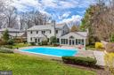 Gracious pool - 7608 ARROWOOD RD, BETHESDA