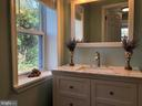 MAIN LEVEL - LUXURIOUS POWDER ROOM - 2809 63RD AVE, CHEVERLY