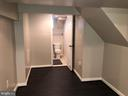 BASEMENT REC ROOM - VIEW OF FULL BATH - 2809 63RD AVE, CHEVERLY