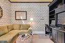 Office with custom desk & shelving - 211 DUKE OF GLOUCESTER ST, ANNAPOLIS