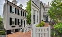 Front and back views of house - 211 DUKE OF GLOUCESTER ST, ANNAPOLIS