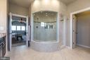 Two spa shower heads to enjoy - 14515 FALCONAIRE PL, LEESBURG