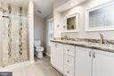 Master Bathroom - 115 BILLINGSGATE LN, GAITHERSBURG