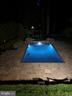 Pool at Night - 8511 CATHEDRAL FOREST DR, FAIRFAX STATION