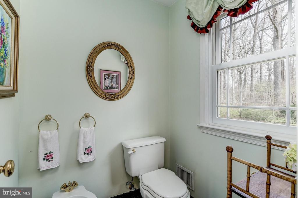 Separate toilet room in master bathroom - 7608 ARROWOOD RD, BETHESDA