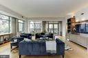 Corner unit flooding with light and panoramic view - 2425 L ST NW #203, WASHINGTON