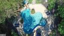 Aerial of In Ground Pool and Water Feature - 12466 KONDRUP DR, FULTON