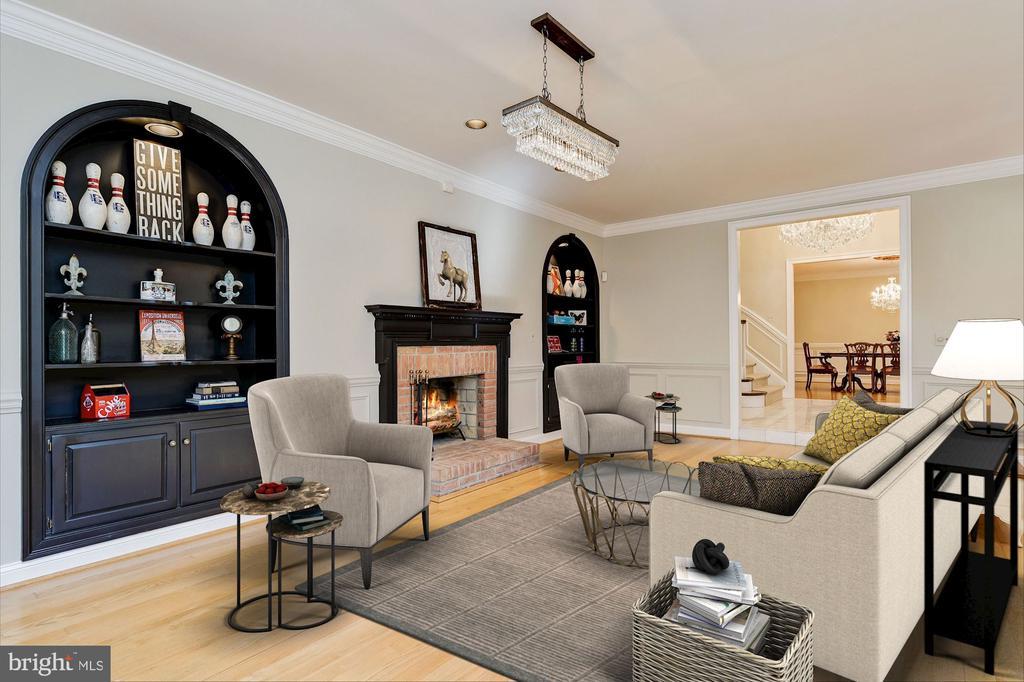 Formal Living Room (Virtually Staged) - 12466 KONDRUP DR, FULTON