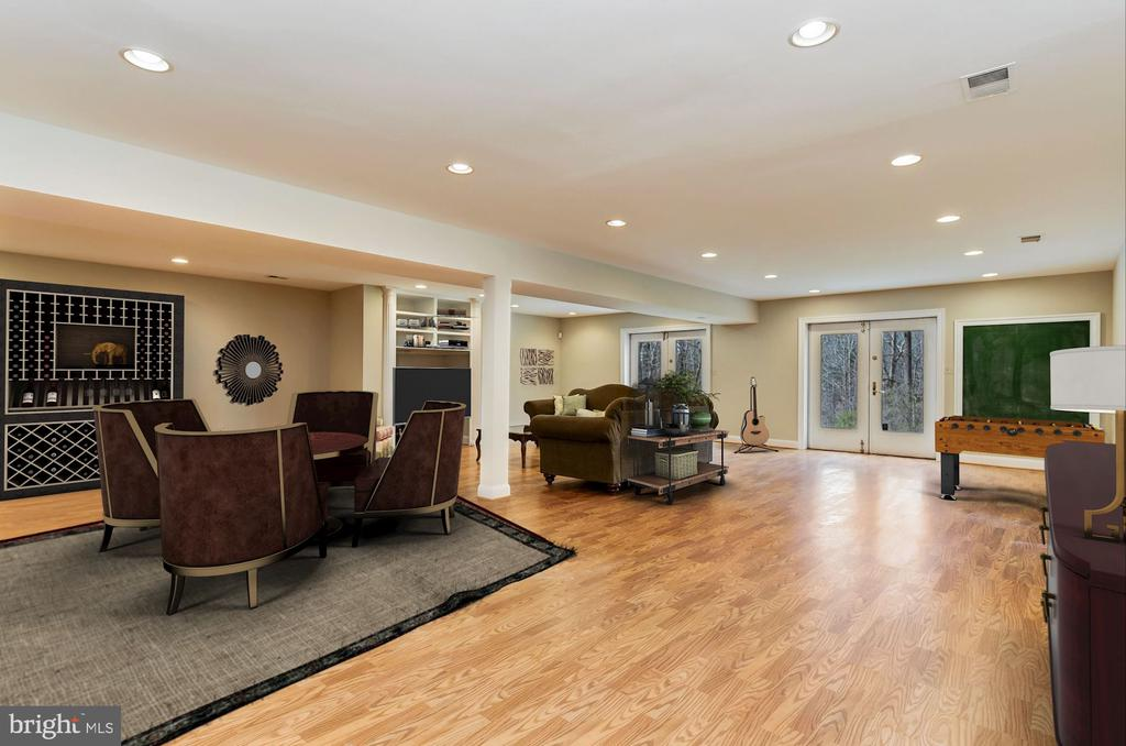 Walk-Out Rec and Club Room - Full Daylight - 12466 KONDRUP DR, FULTON