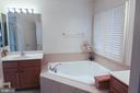 Master Bath - 147 HERNDON MILL CIR, HERNDON