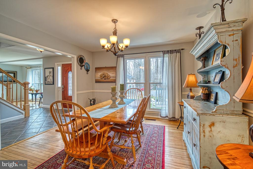Formal dining room - 12224 PINE PARK CT, FAIRFAX
