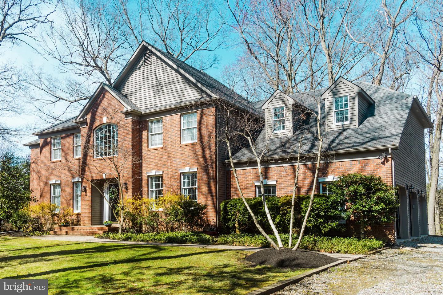 Single Family Homes for Sale at 1 QUAIL RIDGE Princeton Junction, New Jersey 08550 United States