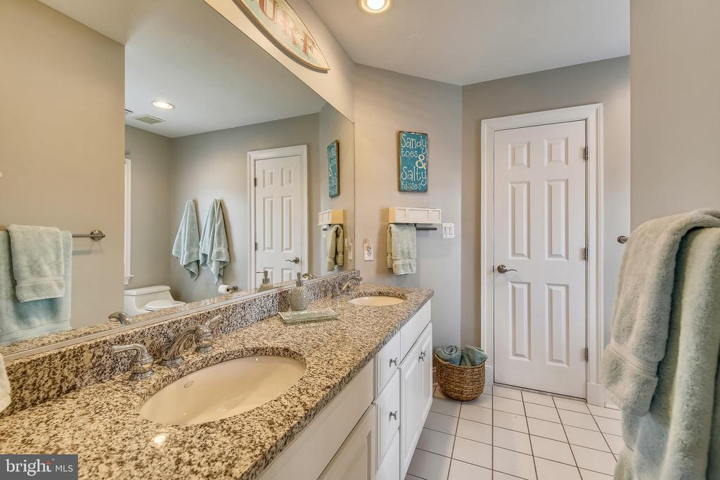 Full Bathroom with Double Sinks - 7731 OLDCHESTER RD, BETHESDA