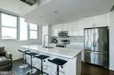 Stunning & sleek contemporary kitchen - 3409 WILSON BLVD #602, ARLINGTON
