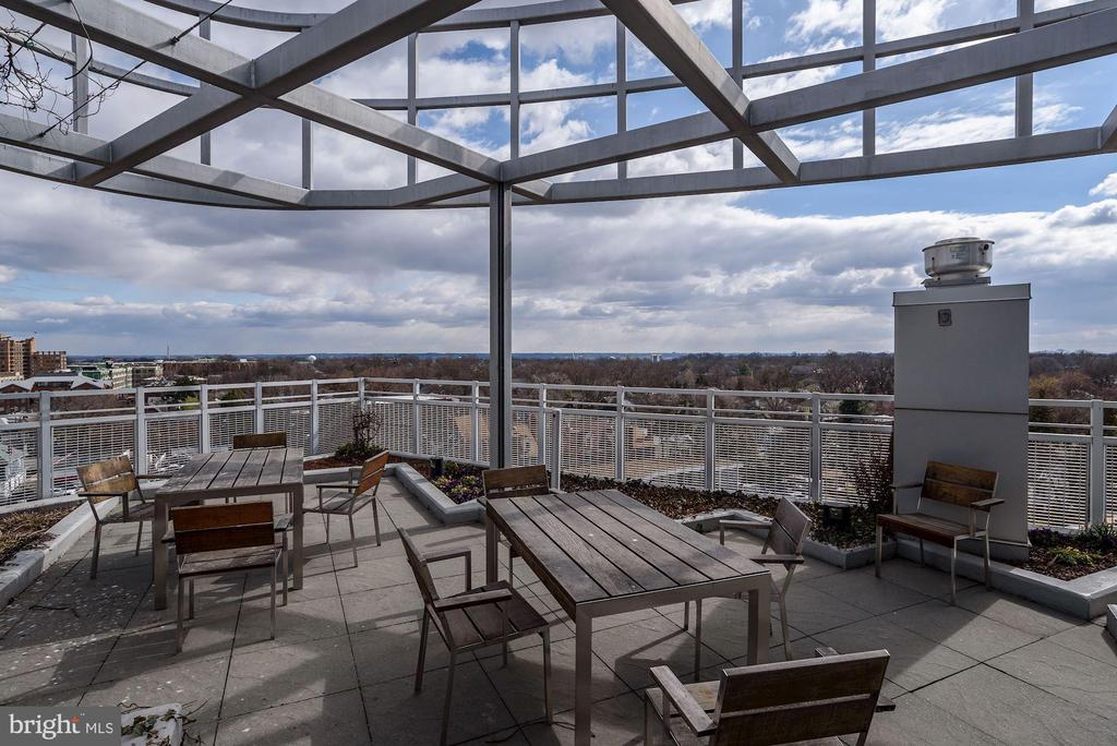 Enjoy rooftop Monumental & city skyline views - 3409 WILSON BLVD #602, ARLINGTON