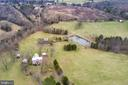 Drone shots from the road - 3374 TWYMANS MILL RD, ORANGE