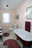 Master bath ( and the only bathroom on 1st floor) - 3374 TWYMANS MILL RD, ORANGE