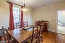 Dining room - 3374 TWYMANS MILL RD, ORANGE