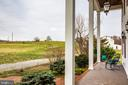 View from front porch offer magnificent sunsets - 504 POPLAR RD, FREDERICKSBURG