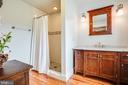 Renovated full bathroom on main level - 504 POPLAR RD, FREDERICKSBURG