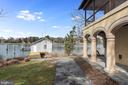 Waterfront with boat house - 3182 HARNESS CREEK RD, ANNAPOLIS