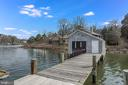 MLW of 12 feet at end of dock - 3182 HARNESS CREEK RD, ANNAPOLIS