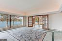 Great room with views of Aberdeen Creek - 3182 HARNESS CREEK RD, ANNAPOLIS