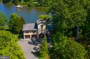 Oversized 3 car garage with studio above - 3182 HARNESS CREEK RD, ANNAPOLIS