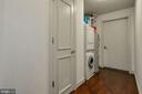 Laundry Room with Storage - 1881 N NASH ST #712, ARLINGTON