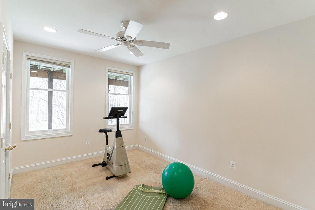 Bedroom #5/Exercise Room - 7000 FAWN TRAIL CT, BETHESDA