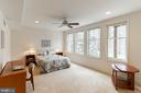 Lower Level Bedroom Suite #4 - 7000 FAWN TRAIL CT, BETHESDA
